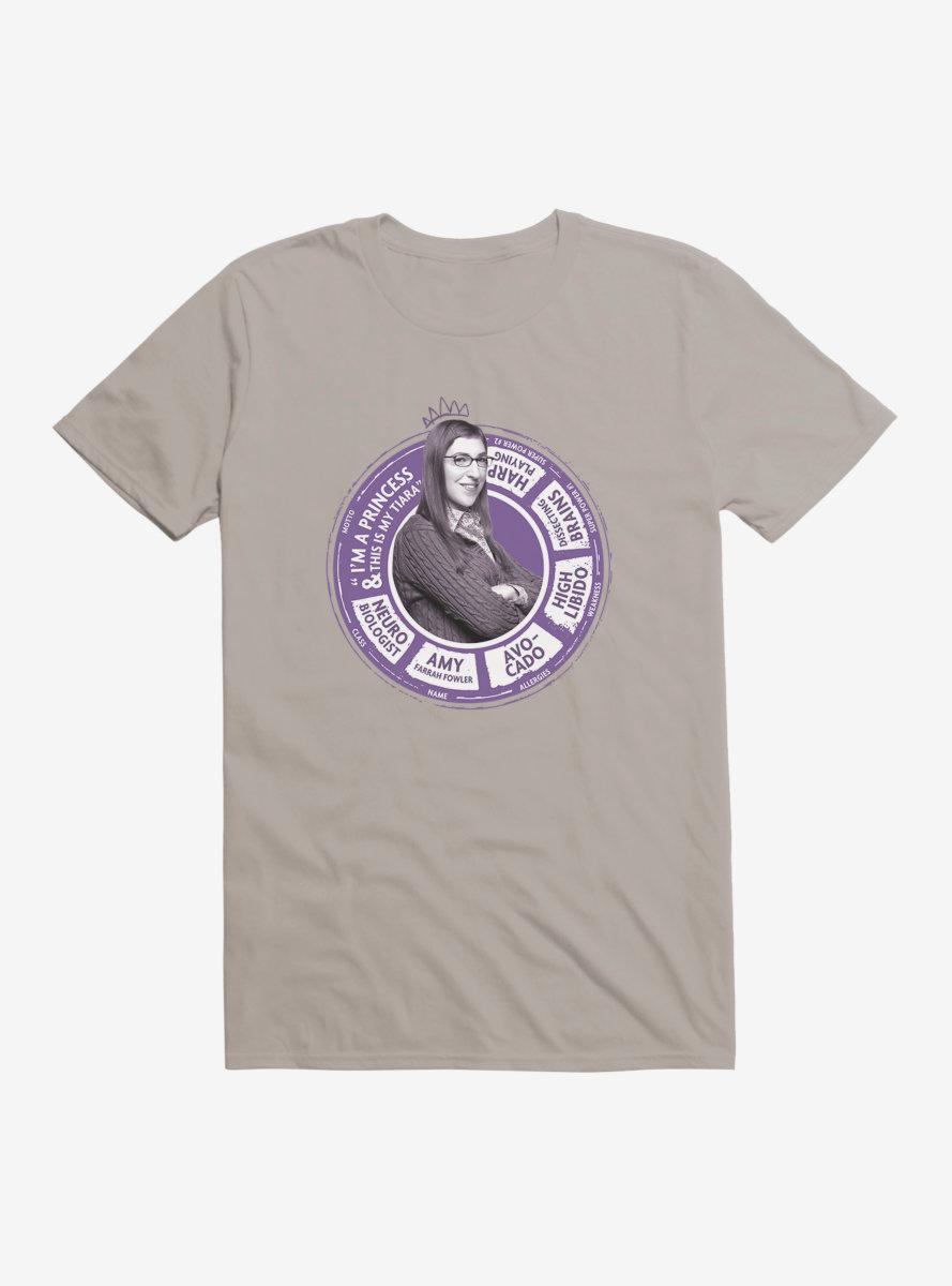 The Big Bang Theory Amy Farrah Fowler Wheel T-Shirt
