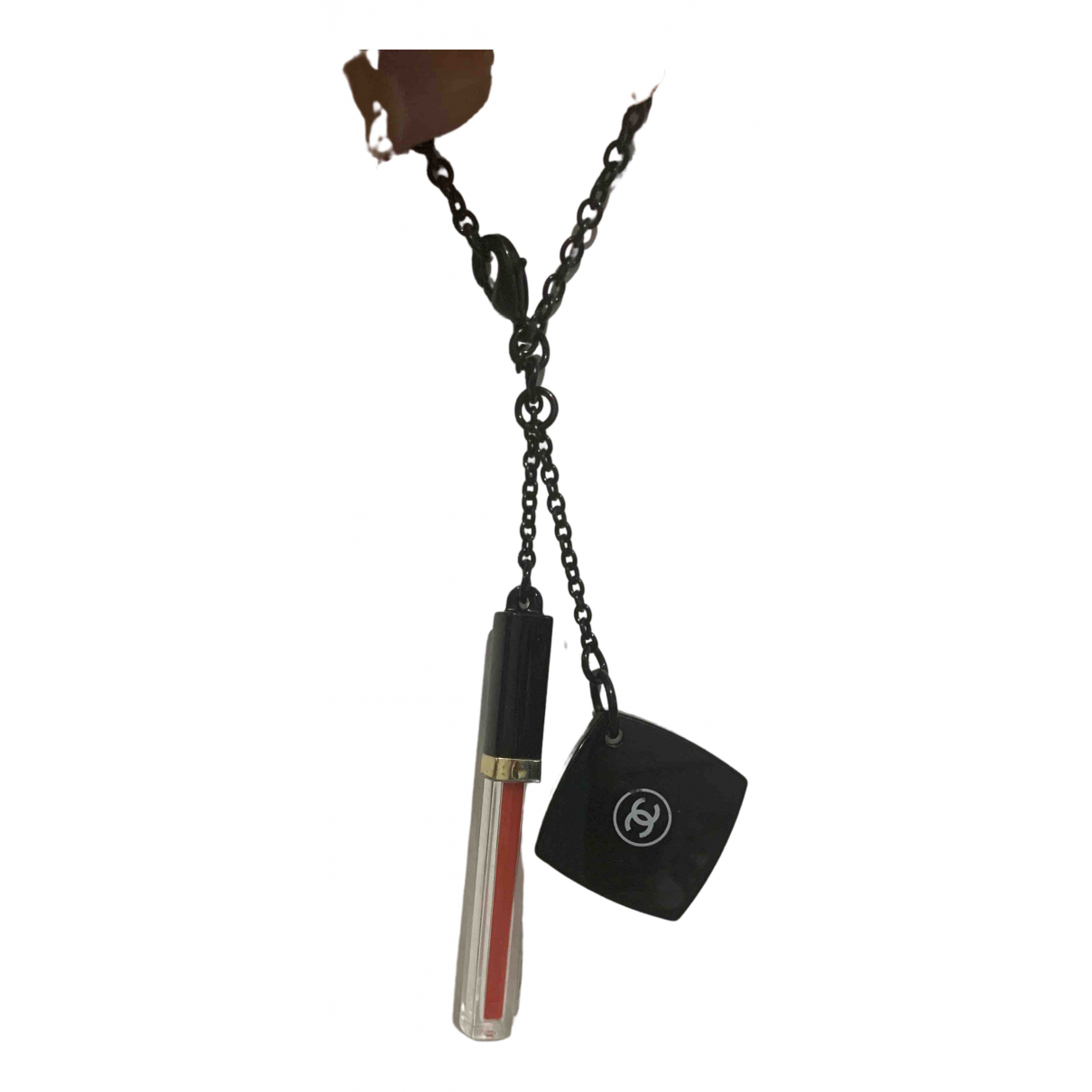 Chanel \N Taschenschmuck in  Schwarz Kunststoff