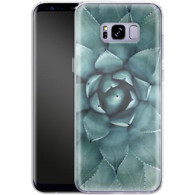 Samsung Galaxy S8 Plus Silikon Handyhuelle - Beautiful Succulent von caseable Designs