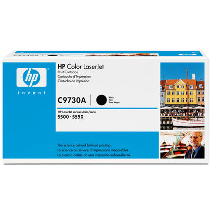 HP 645A C9730A Original Black Toner Cartridge