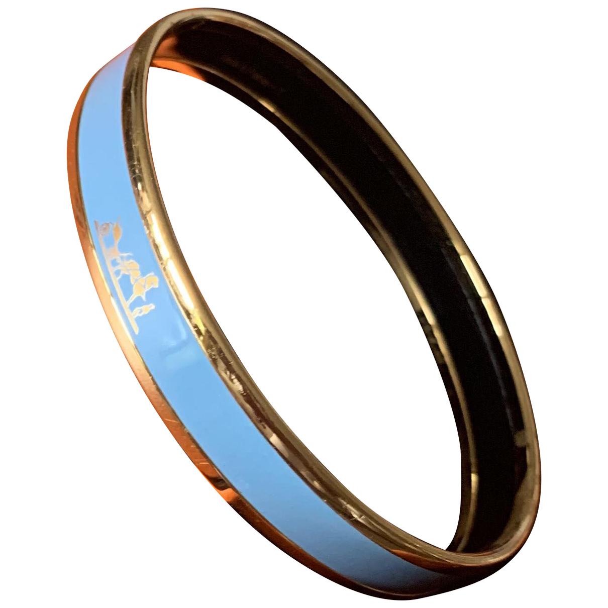 Hermes \N Armband in  Blau Keramik