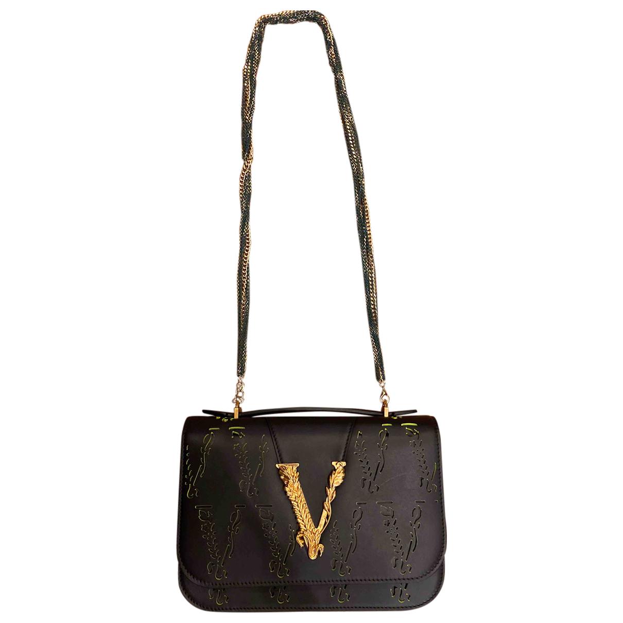 Bandolera Virtus de Cuero Versace
