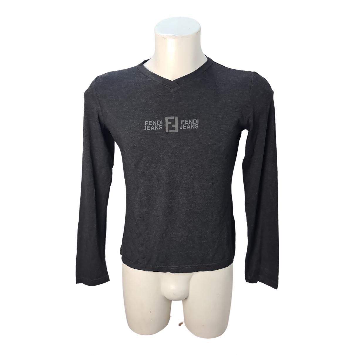 Fendi - Tee shirts   pour homme - noir