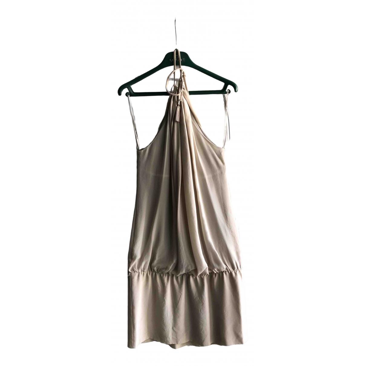 Trussardi \N Kleid in  Rosa Seide