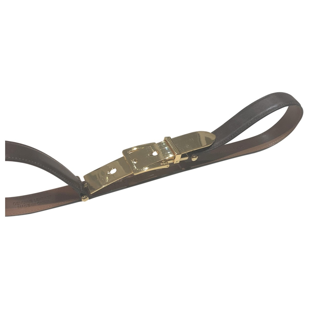 Ralph Lauren \N Brown Suede belt for Women M International