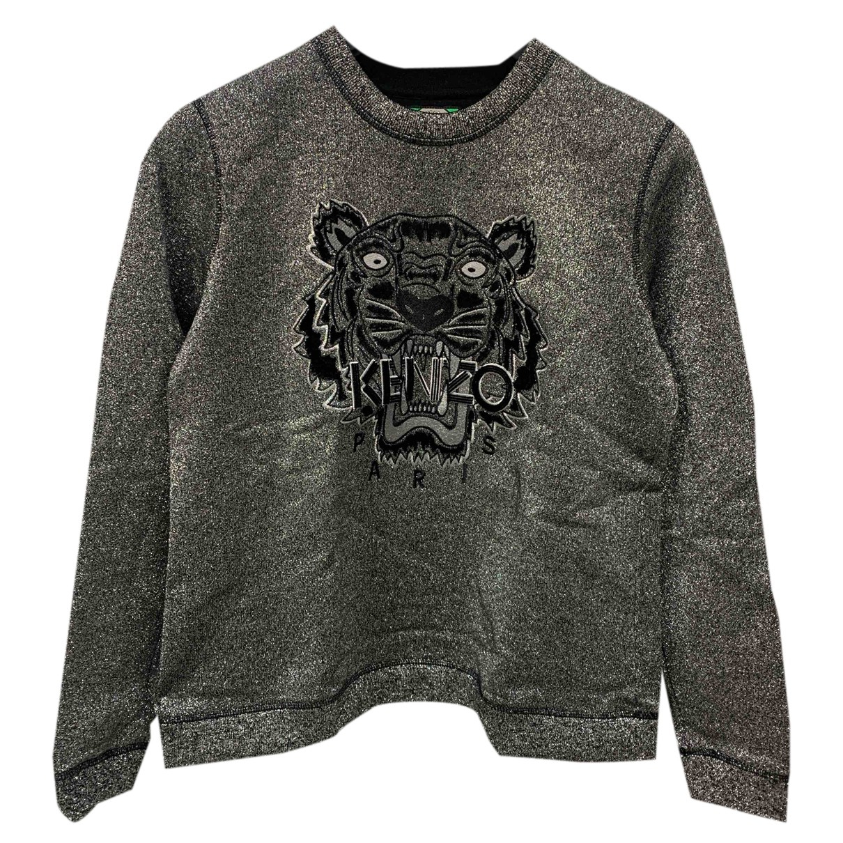 Kenzo N Silver Cotton Knitwear for Women 40 FR