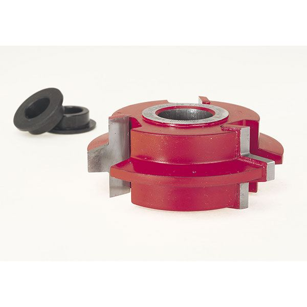 EC-033 Wedge Tongue & Groove Shaper Cutter, 2-7/8