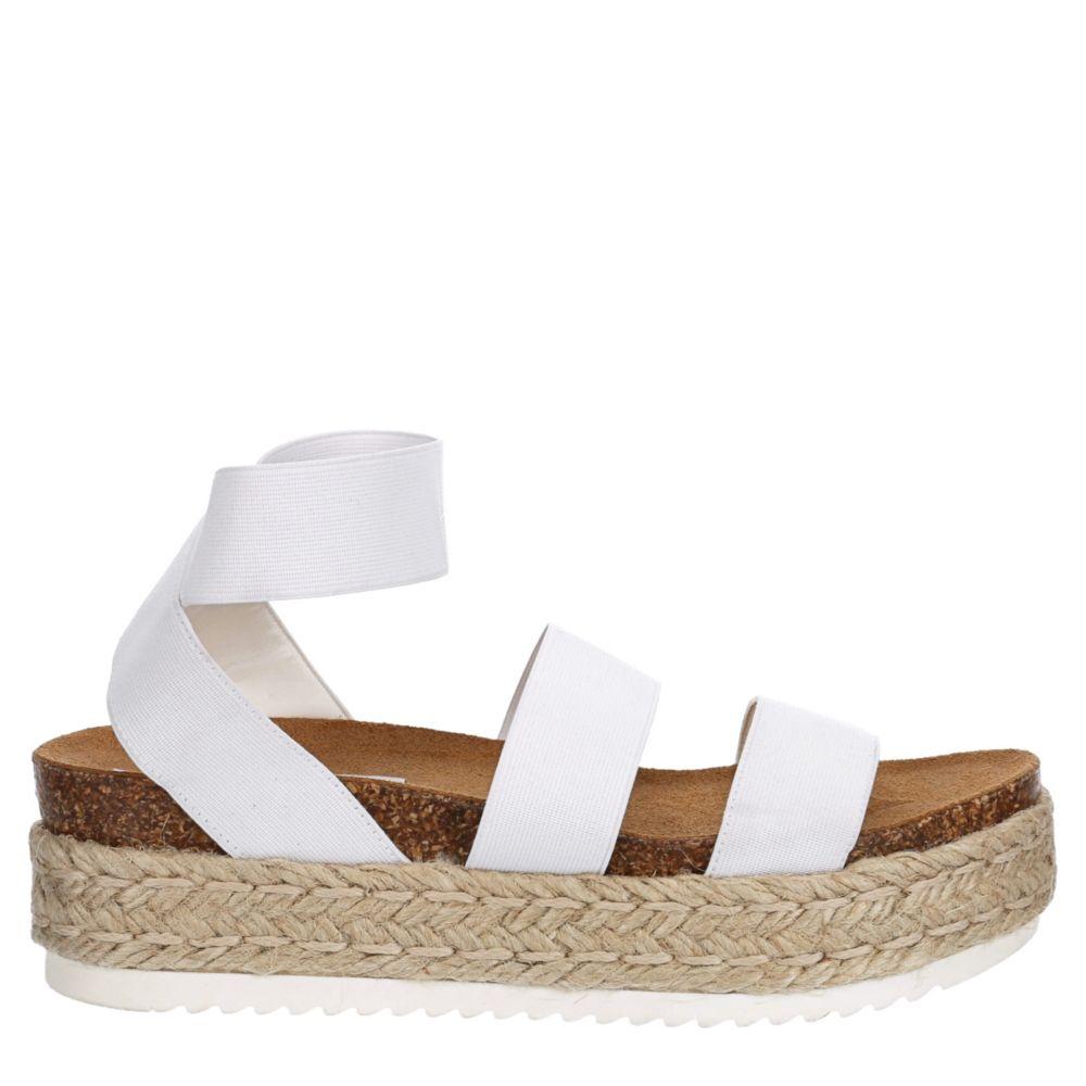 Steve Madden Womens Kimmie Platform Espadrille Sandal Sandals