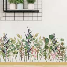 Plants Print Wall Sticker