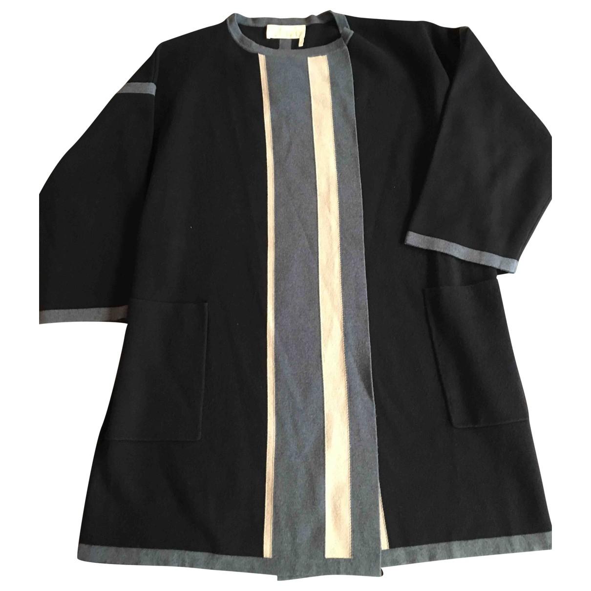 Chloe - Manteau   pour femme en laine - bleu