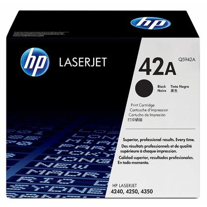 HP 42A Original Black Toner Cartridge
