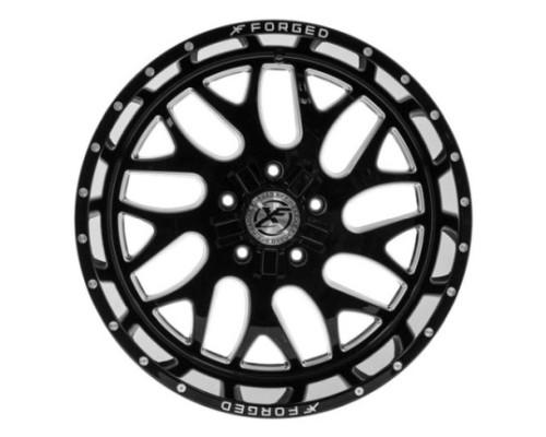 XF Off-Road XFX-301 Wheel 18x10 5x114.3|5x127 -12mm Black Milled Window