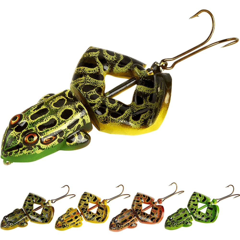 Rebel Buzz'n Frog 1/2 oz Fishing Lure - 1/2 oz. (Northern Leopard Frog)