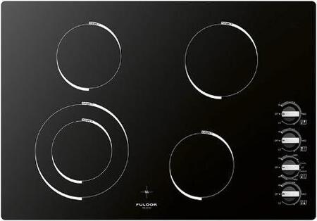 F3RK30B2 30 Black Radiant Cooktop with 4 Cooking Zones  Knob Control  Hot Surface Indicator  in