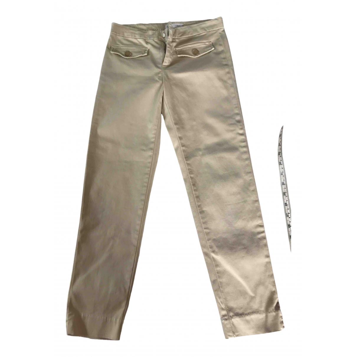 Zara N Beige Linen Trousers for Kids 14 years - S FR