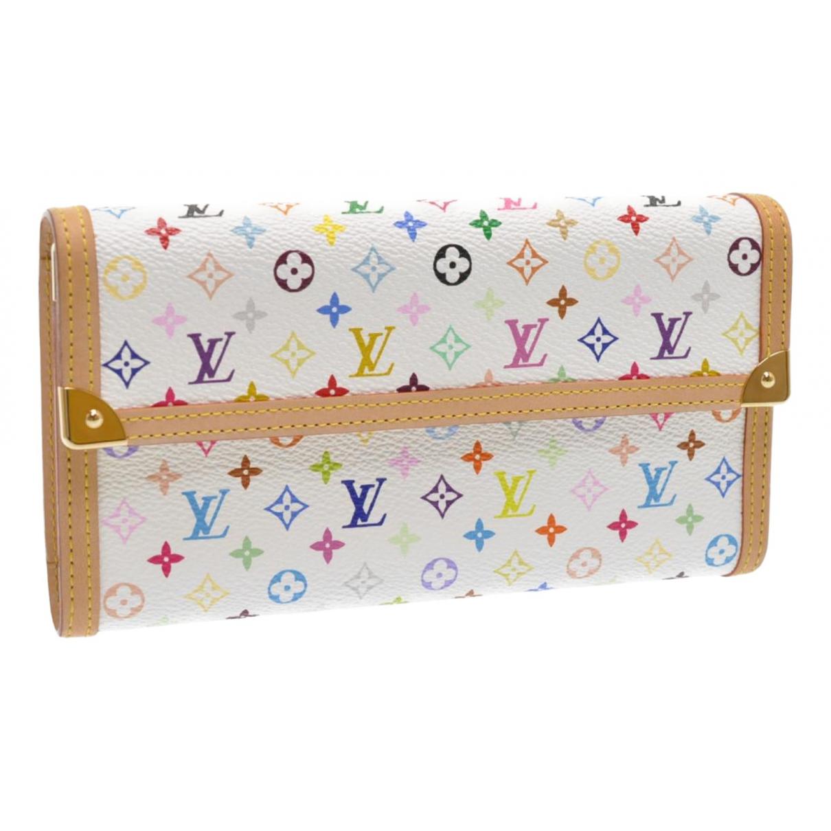 Louis Vuitton N White Cloth wallet for Women N