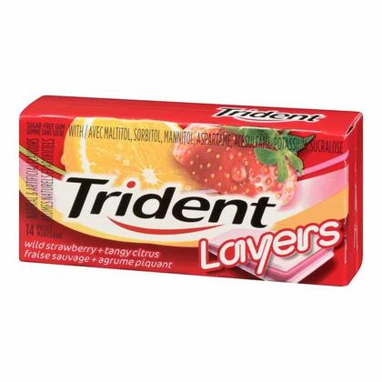 Couches Trident Chewing Gum 1Pc