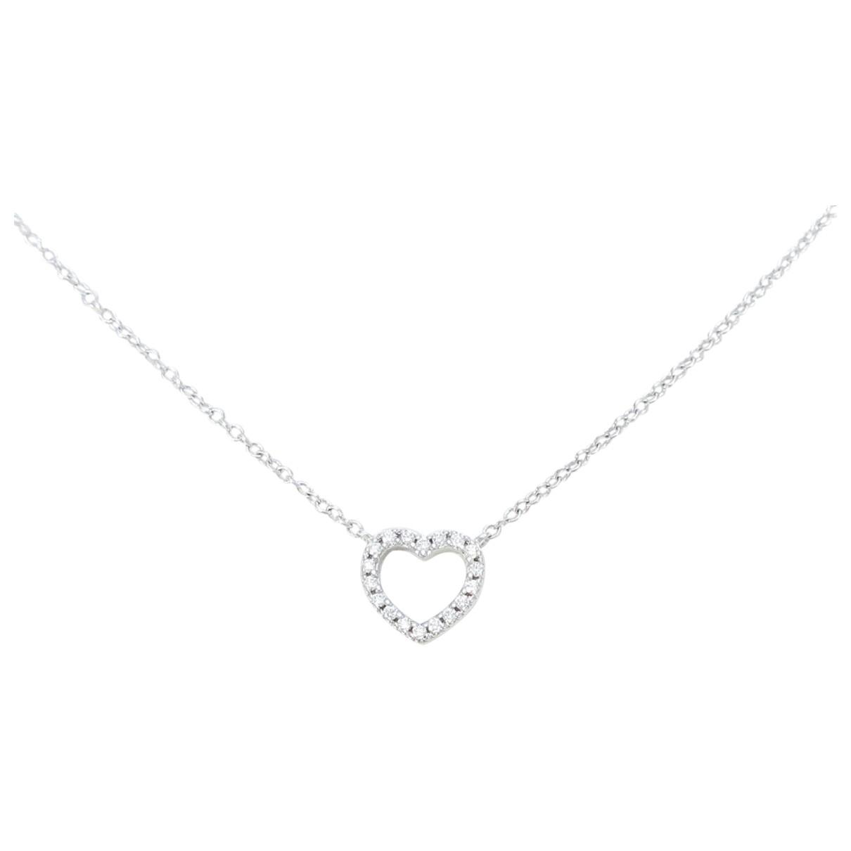 Tiffany & Co \N Kette in  Gold Weissgold