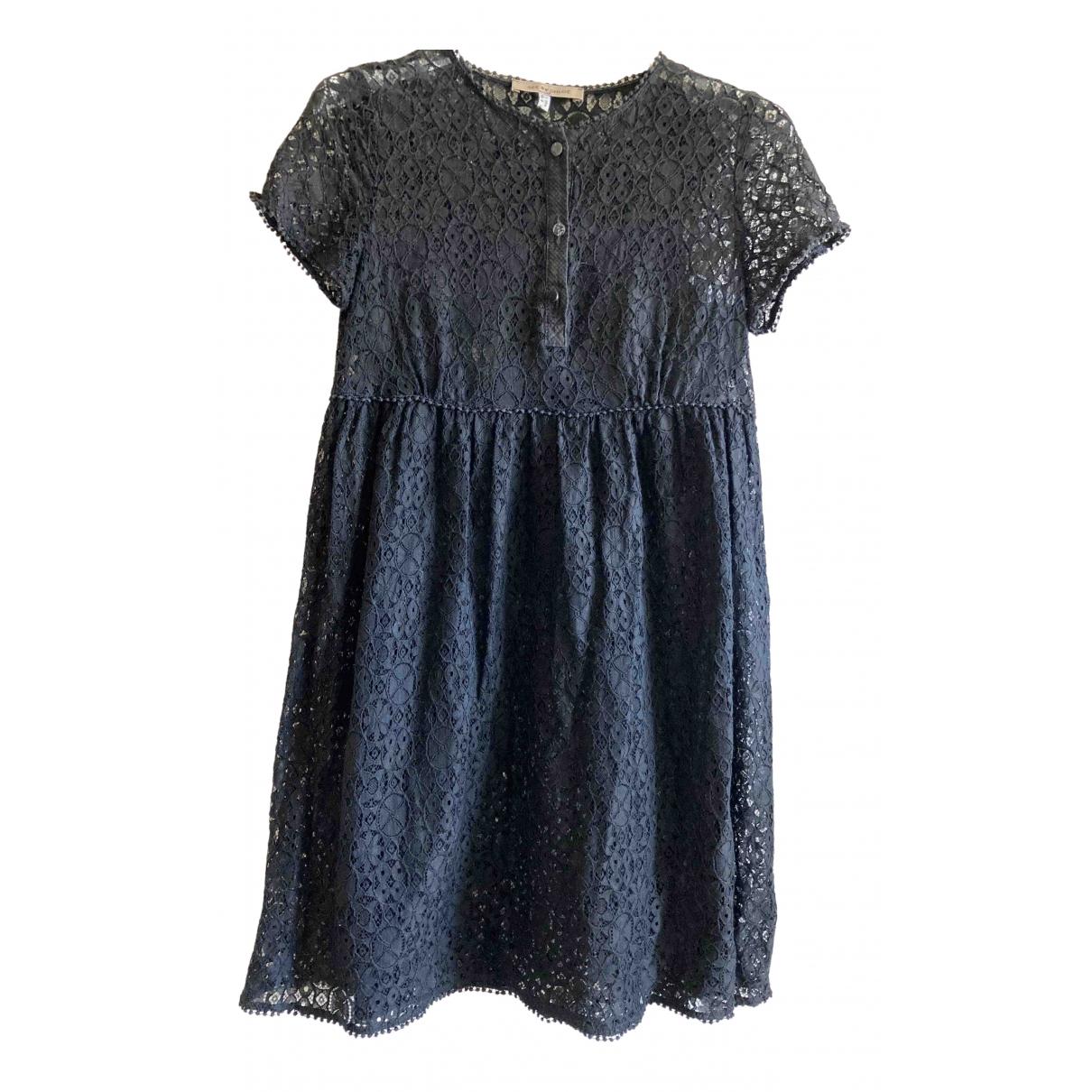 See By Chloe \N Kleid in  Schwarz Baumwolle