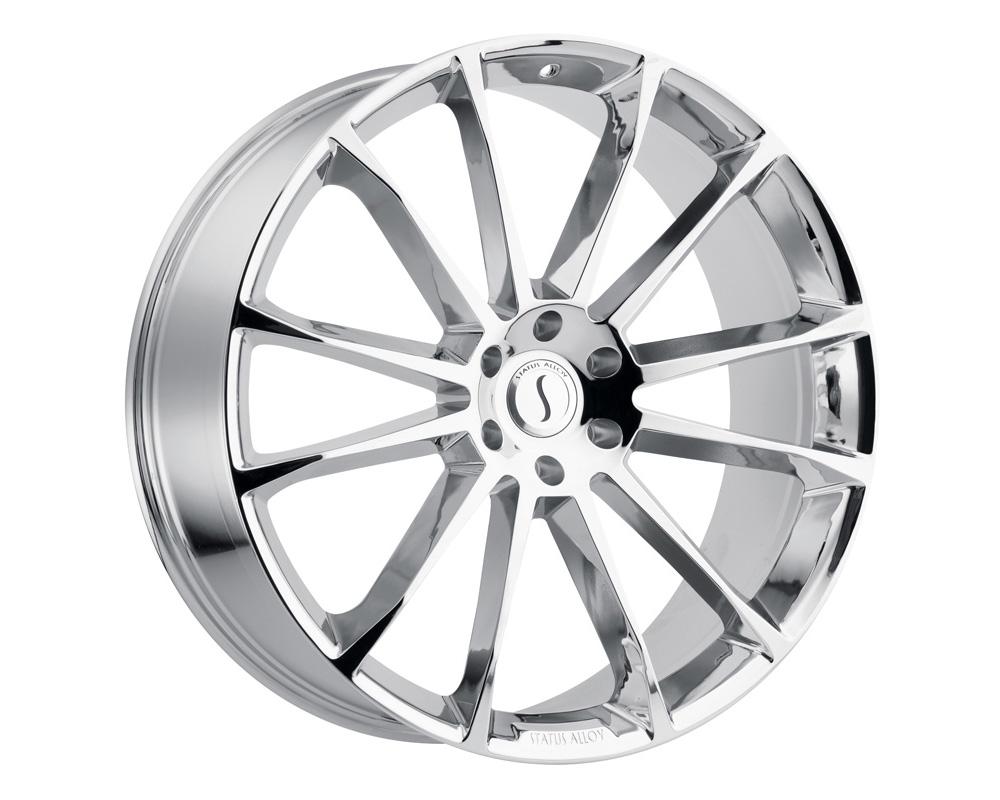 Status Goliath Wheel 22x9.5 5x115 15mm Chrome