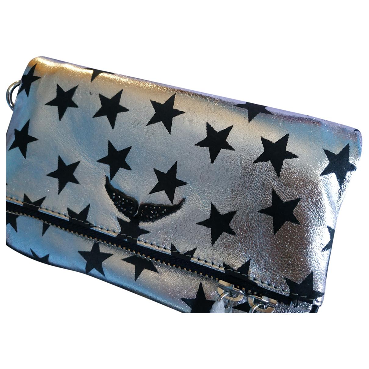Zadig & Voltaire Rock Metallic Leather handbag for Women \N