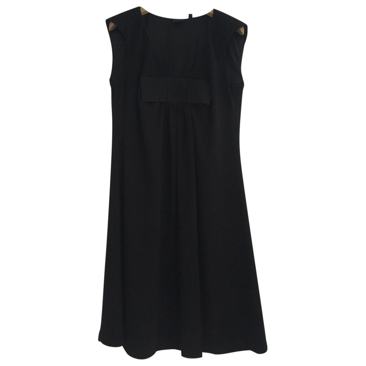 Aspesi \N Kleid in  Schwarz Synthetik