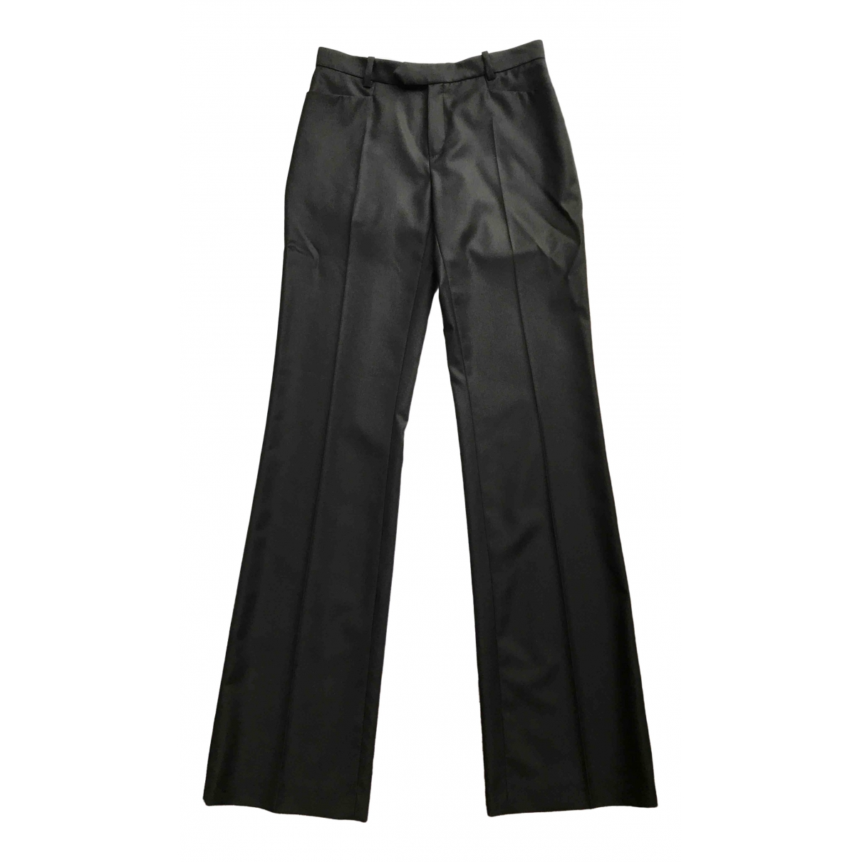 Joseph \N Black Wool Trousers for Women 36 FR
