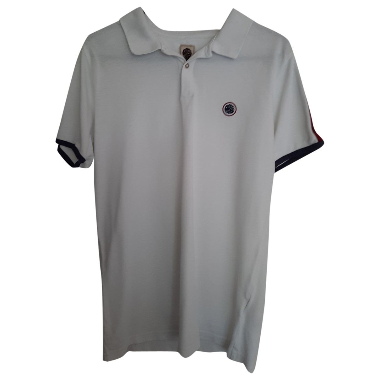 Polo en Algodon Blanco Pretty Green