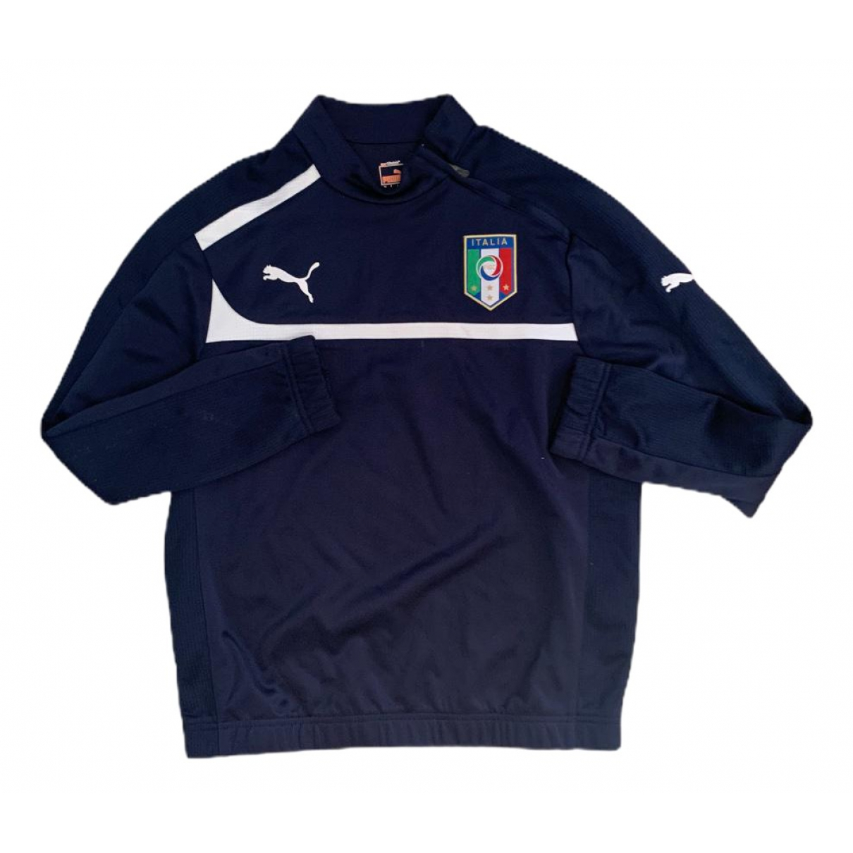 Puma \N Pullover.Westen.Sweatshirts  in  Blau Baumwolle