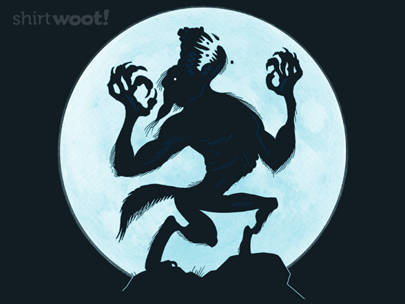 Werewolf's Wail T Shirt