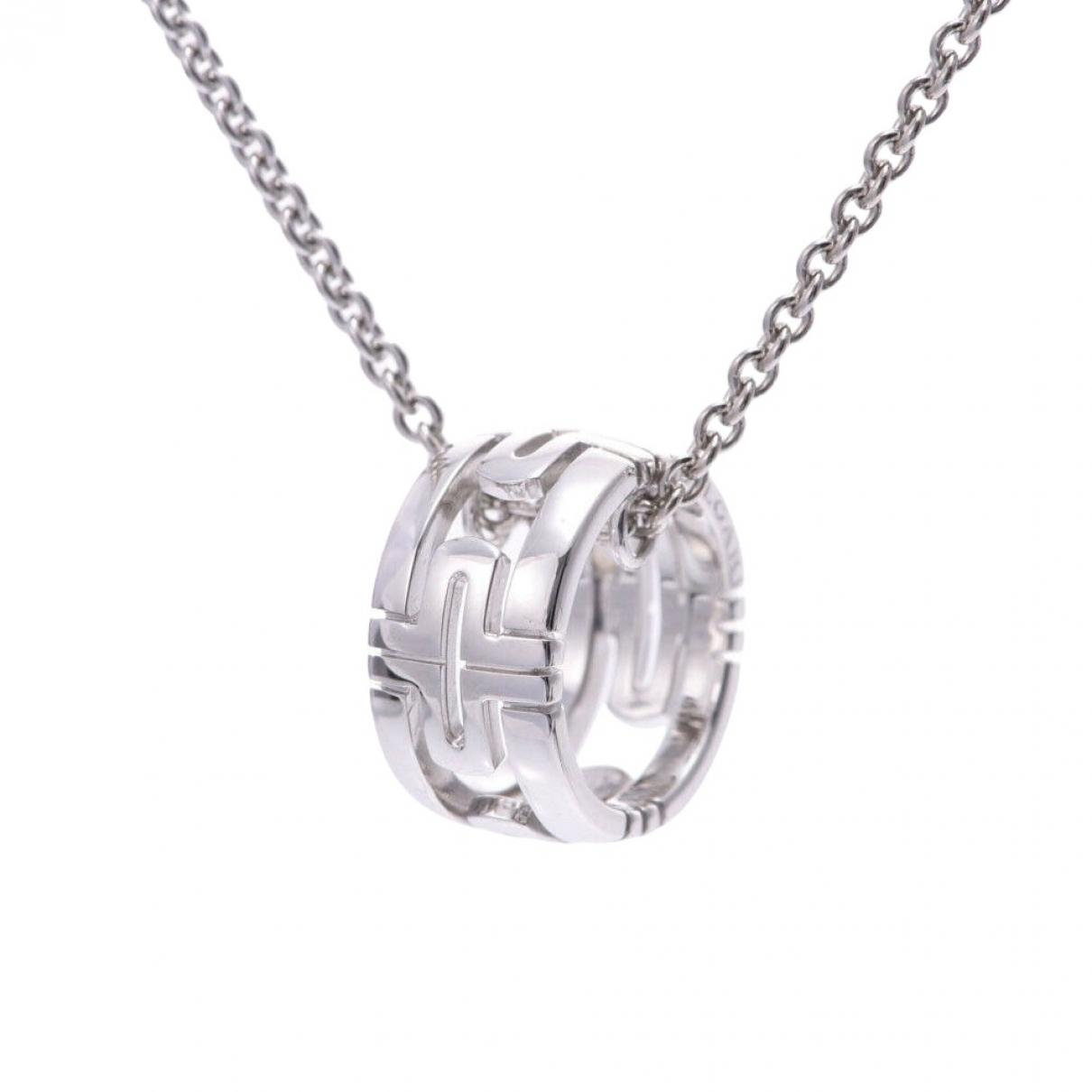 Bvlgari Parentesi Silver White gold pendant for Women \N