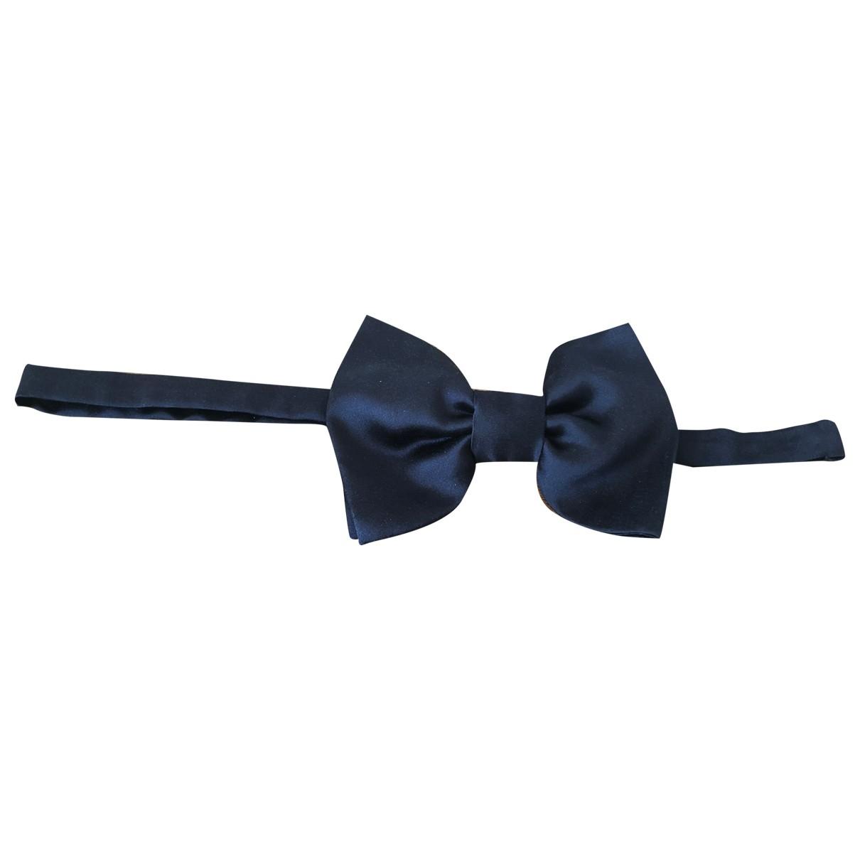 Lanvin For H&m \N Krawatten in  Schwarz Seide
