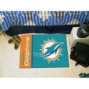 NFL - Miami Dolphins Uniform Starter Rug 19