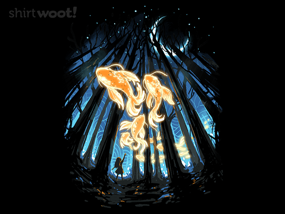 Midnight Forest T Shirt