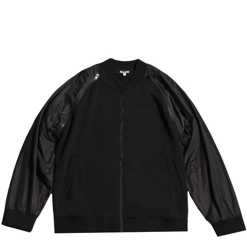 Kenzo Bomber Jacket Black Colour: BLACK, Size: MEDIUM