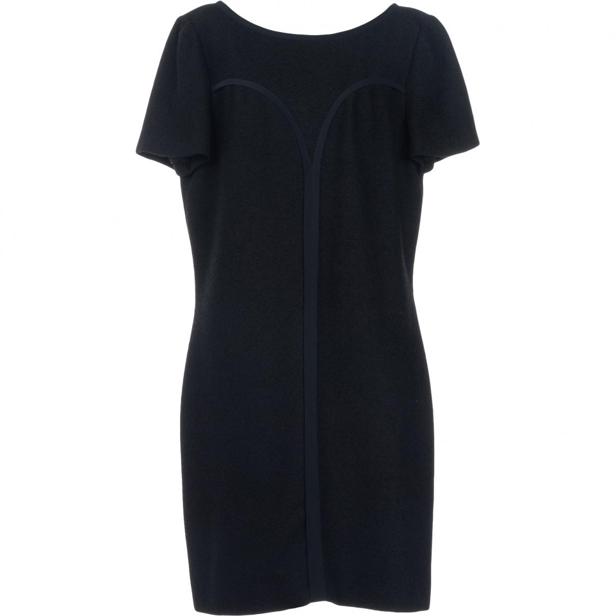 Versace - Robe   pour femme en coton - noir