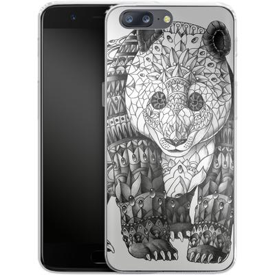 OnePlus 5 Silikon Handyhuelle - Panda von BIOWORKZ