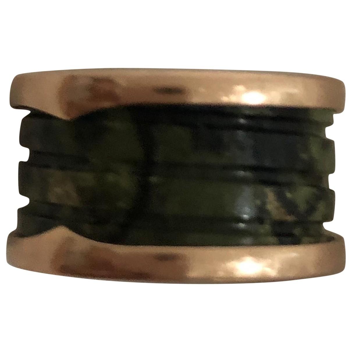 Bvlgari B.Zero1 Green Pink gold ring for Women 52 MM