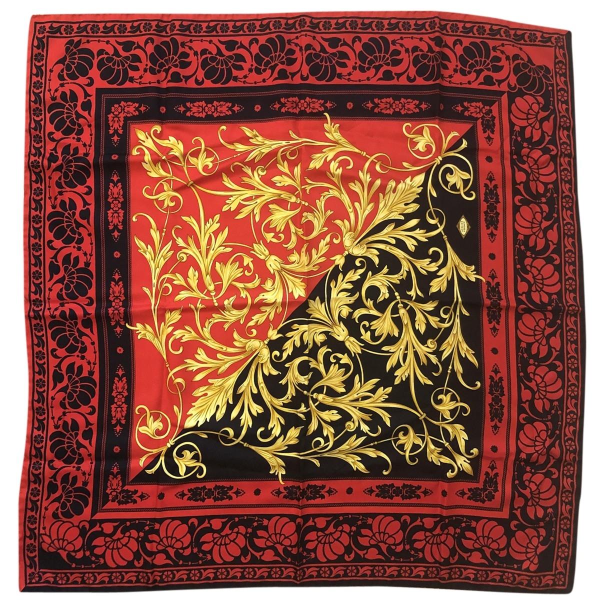 Versace \N Schal in  Rot Seide