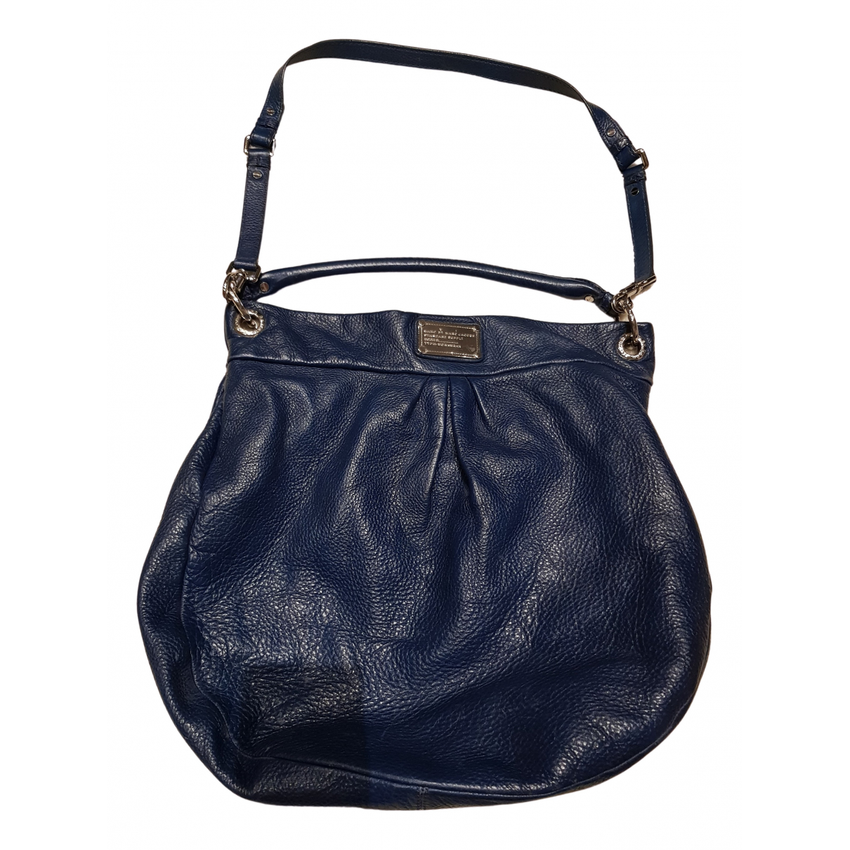 Marc By Marc Jacobs Too Hot to Handle Blue Leather handbag for Women N