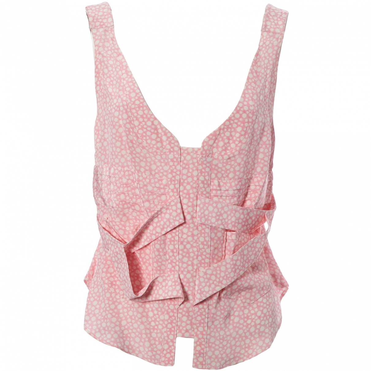 Balenciaga - Top   pour femme en soie - rose