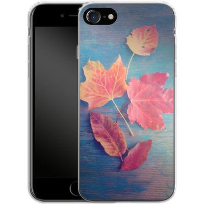 Apple iPhone 8 Silikon Handyhuelle - The Colors Of Autumn von Joy StClaire