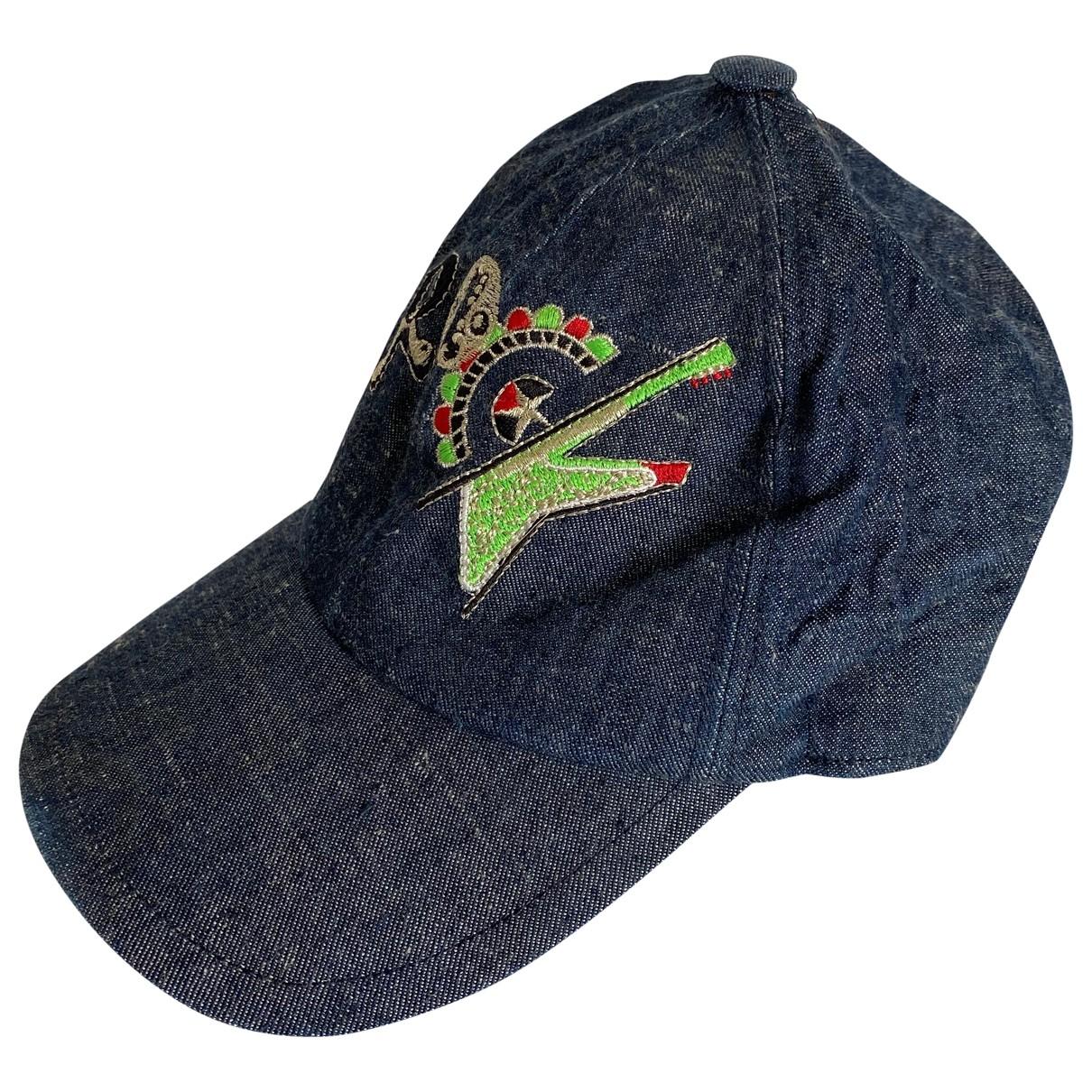 Versace Jeans \N Blue Cotton hat for Women S International