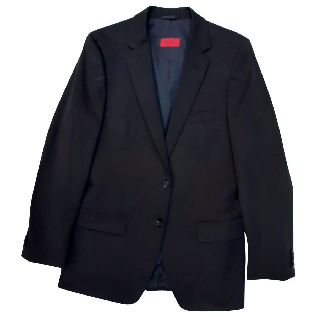 Hugo Boss N Blue Cotton jacket  for Men 48 IT
