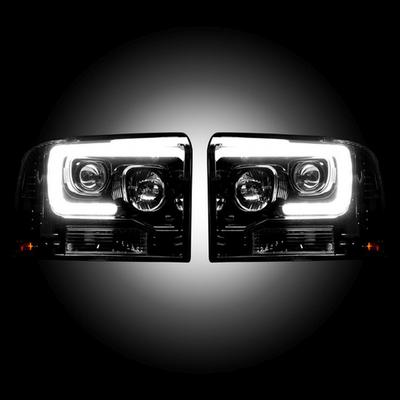 RECON Projector Headlights - 264193BKC