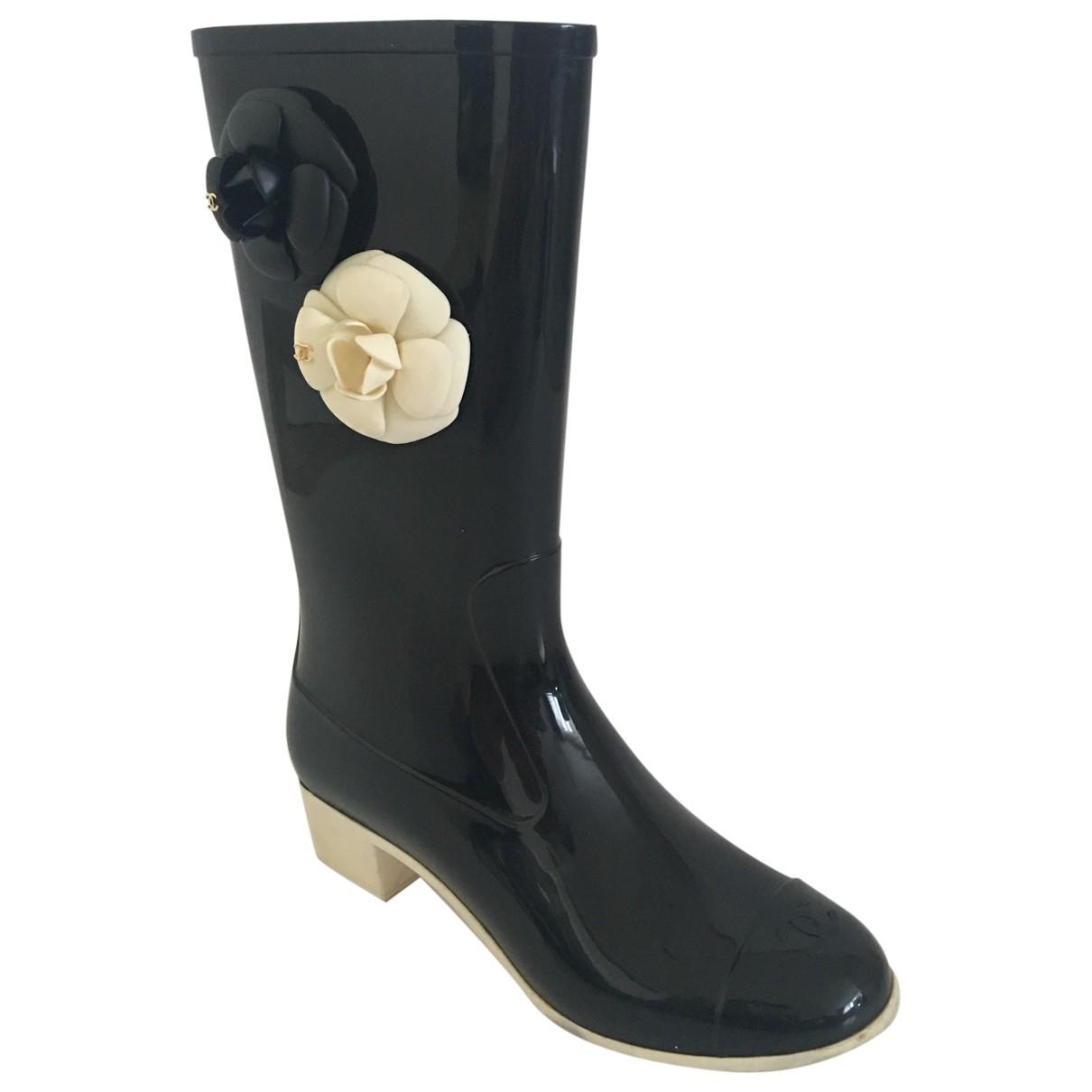 Chanel \N Black Boots for Women 40 EU