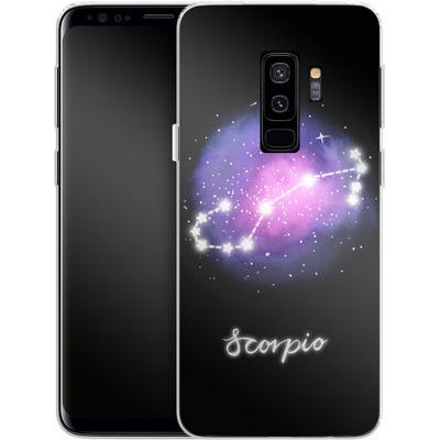 Samsung Galaxy S9 Plus Silikon Handyhuelle - SCORPIO von Becky Starsmore