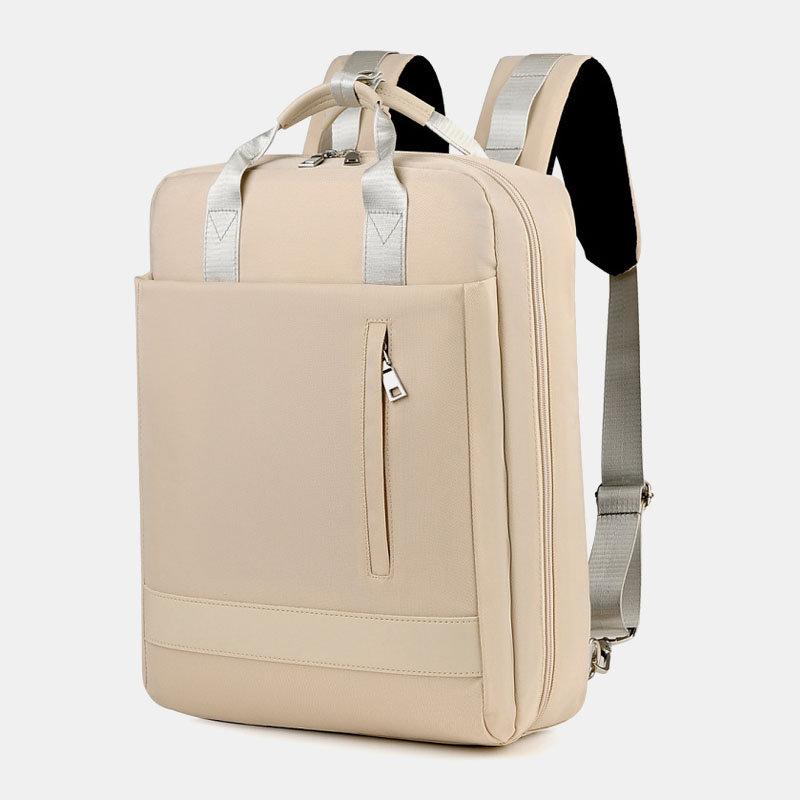 WomenMultifunction Waterproof Casual Patchwork Backpack