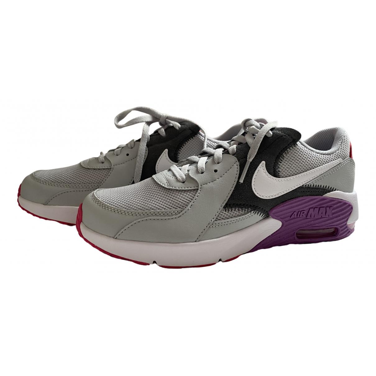 Nike - Baskets Air Max 90 pour femme en toile - gris