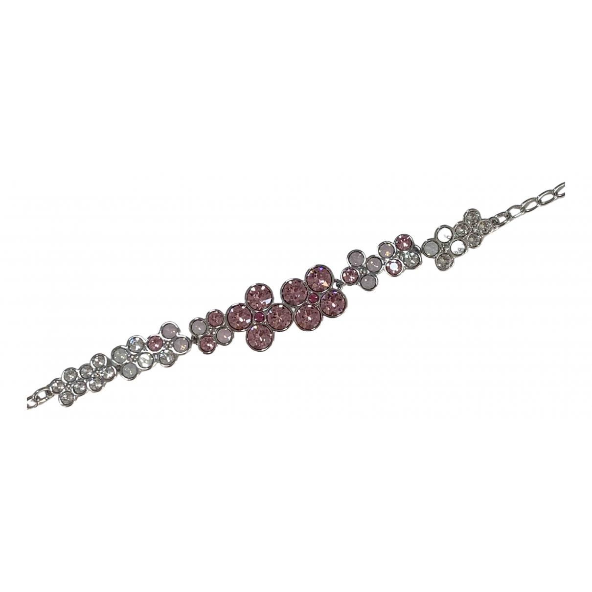 Swarovski \N Armband in  Rosa Kristall